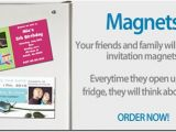 Magnet Birthday Invitations Invite Magnets Archives