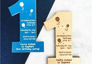 Magnetic Birthday Party Invitations 1st Birthday Party Invitation Magnet by Batemandesigns