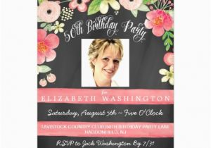 Magnetic Birthday Party Invitations 50th Birthday Photo Magnetic Party Invite Magnetic