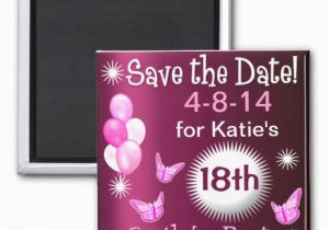 Magnetic Birthday Party Invitations Ladies Birthday Invitation Magnet Fridge Magnet Zazzle
