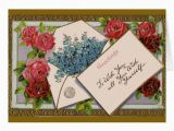Mail A Birthday Card Online Flowers In the Mail Birthday Card Zazzle