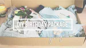 Mail Birthday Gifts for Him How to Mail A Present Diy Birthday Package for Faraway