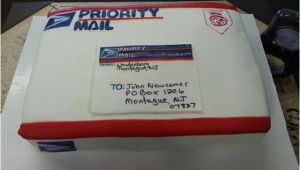Mail order Birthday Gifts for Him Priority Mail Box Birthday Cake Photo by Shelbylynncakes