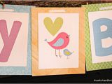 Make A Happy Birthday Banner Online Free Bird themed Birthday Party with Free Printables How to