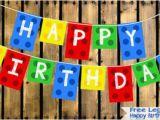 Make A Happy Birthday Banner Online Free Free Lego Blocks Happy Birthday Banner Kids Baby Designs
