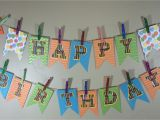 Make A Happy Birthday Banner Online Make Your Own Birthday Pennant Banner A Sparkle Of Genius