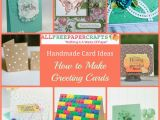 Make An Online Birthday Card 35 Handmade Card Ideas How to Make Greeting Cards