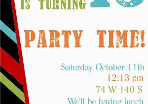 Make Birthday Party Invitations Online For Free To Print Printable Invitation Templates