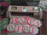 Make Happy Birthday Banner Cricut 114 Best Images About Cricut Party Decor On Pinterest
