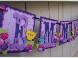 Make Happy Birthday Banner Cricut Handmade Banner Custom Made Go Green Name Banner