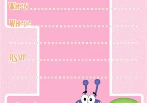 Make Your Own 1st Birthday Invitations Invitation Template Free Printable
