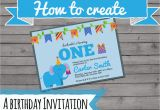 Make Your Own 1st Birthday Invitations Create Your Own Photo Birthday Invitations First
