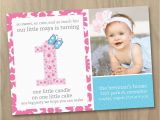 Make Your Own 1st Birthday Invitations First Birthday Invitation Wording Ideas Free Printable