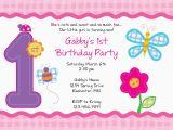 Make Your Own 1st Birthday Invitations Free 1st Birthday Invitation Templates Printable Best