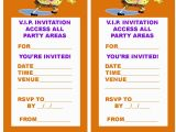 Make Your Own 1st Birthday Invitations Spongebob Invitation Template Invitation Template