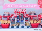 Make Your Own Birthday Decorations Bubble and Sweet Make Your Own Ice Cream Party for Bubble