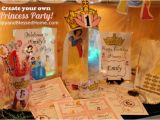 Make Your Own Birthday Decorations Create Your Own Princess Birthday Party W Free Printables