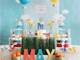 Make Your Own Birthday Decorations Hot Air Balloon Birthday Decorations Make Your Own Hot