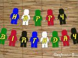 Make Your Own Happy Birthday Banner Craftventure Time Ninjago Birthday Banner
