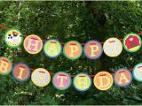 Make Your Own Happy Birthday Banner Down On the Farm Happy Birthday Banner Kit No Printing