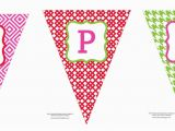 Make Your Own Happy Birthday Banner Happy Birthday Banner Template Printable World Of Label