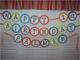 Make Your Own Happy Birthday Banner Make Your Own Birthday Banner 1st Birthday Pinterest