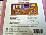 Make Your Own Happy Birthday Card Happy Birthday Card Kit Make Your Own Card Kit by Emma