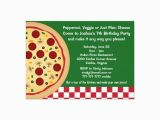 Make Your Own One Direction Birthday Invitations Make Your Own Pizza Kids Birthday Party Invitation