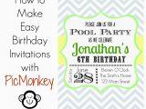 Making A Birthday Invitation How to Make Birthday Invitations In Easy Way Birthday