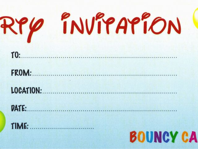 98 Design Your Own Birthday Invitations Online