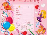 Making Invitation Cards for Birthdays 4 Step Make Your Own Birthday Invitations Free Sample