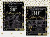 Male 30th Birthday Invitations 30th Birthday Invitations for Him Lijicinu 6df194f9eba6