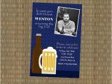 Male 30th Birthday Invitations Men 39 S 30th Birthday 30th Birthday Invitations and Beer