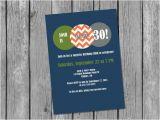 Male 30th Birthday Invitations Printable Male 30th Birthday Invitation Masculine Birthday