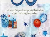 Male 50th Birthday Cards Male 50th Birthday Poetry In Motion Card Cards Love Kates
