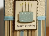 Male Birthday Card Images Masculine Birthday Cake by Rbright at Splitcoaststampers