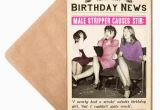 Male Dancer Birthday Card Male Stripper Birthday Card for Her