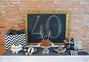 Man S 40th Birthday Ideas Party Idea For A Home Stories To