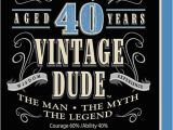 Man S 40th Birthday Ideas 40th Birthday Party Quotes Quotesgram