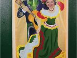 Mariachi Birthday Card Mariachi Fiesta Photo Prop Door Banner Party Pics Spanish
