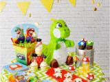Mario Bros Birthday Decorations Kara 39 S Party Ideas Super Mario Bros themed Birthday Party