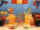 Mario Bros Birthday Decorations Mario themed Birthday Party B Lovely events