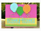 Martha Stewart Birthday Cards Card Martha Stewart Happy Birthday Punch Balloon Card