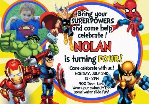 Marvel Avengers Birthday Invitations Tips for Choosing Avengers Birthday Invitations Free