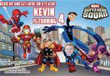 Marvel Superhero Birthday Invitations Marvel Superhero Birthday Invitations Best Party Ideas