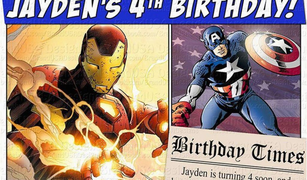 Download By SizeHandphone Tablet Desktop Original Size Back To Marvel Superhero Birthday Invitations