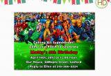 Marvel Superhero Birthday Invitations Superhero Invitation Superhero Party Marvel by Hdinvitations