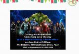 Marvel Superhero Birthday Party Invitations Marvel Superhero Birthday Invitations Best Party Ideas