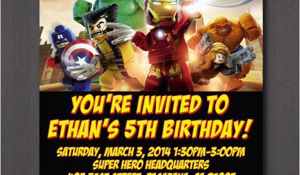 Download By SizeHandphone Tablet Desktop Original Size Back To Marvel Superhero Birthday Party Invitations