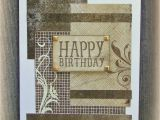 Masculine Birthday Cards to Make Stamp and Ink Masculine Birthday Cards